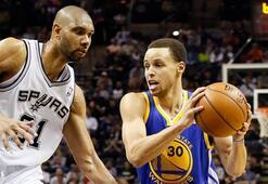 Warriors, Spurs'ü 97-87 yenerek, seriyi eşitledi