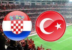 Nefesler tutuldu Hırvatistan Türkiye maçı hangi kanaldan canlı izlenecek