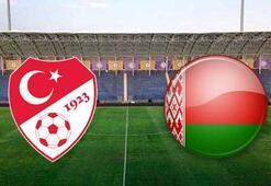 Türkiye Belarus U21 maçı ne zaman saat kaçta hangi kanalda