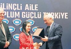Milli halterciden Alıcık'a teşekkür