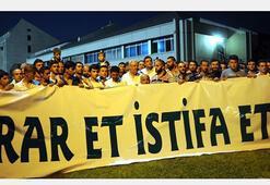 Bursasporlu taraftarlardan Bölükbaşına destek