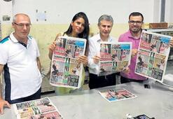 Milliyet, Lefkoşa'da basılıyor