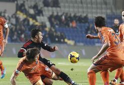 Beşiktaşın Medipol Başakşehire şansı tutmuyor