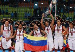 Arjantini 76-71 yenen Venezuela ilk şampiyonluğuna ulaştı