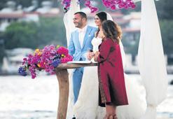Bodrum'da renkli düğün