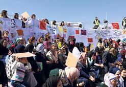 Mülteci kadınların 'Umut bohçası'