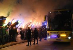 Fenerbahçe kafilesi Malatyada