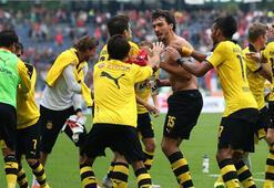 Bundesligada B.Dortmund kayıpsız liderliğini sürdürdü