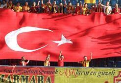 Yeni Malatyadan dev bayraklı protesto