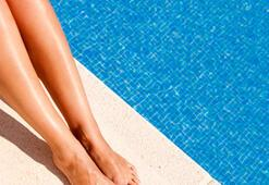 Havuzda ayak mantarına dikkat