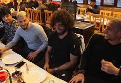 Fenerbahçe maçı öncesi Malatyaspora moral yemeği