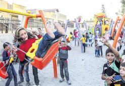 Cerablus'ta  2.5 yıl sonra  özgür bayram