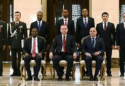 Erdoğan, Singapur ve Somali Büyükelçilerini kabul etti