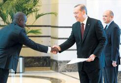 Cumhurbaşkanı büyükelçileri  kabul etti