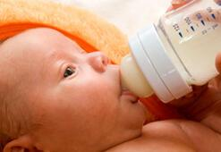 İnek sütü 1 yaş altı bebekler için çok tuzlu