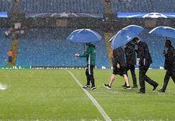 İngilterede yağmur engeli