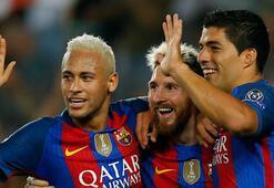 Messi, Şampiyonlar Liginde 6. kez hat-trick yaptı