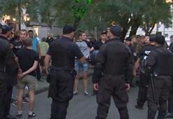 Ukraynada Fenerbahçeli taraftarlara saldırı