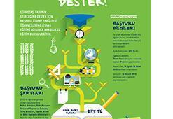 Tarımın geleceği için eğitime destek