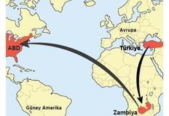 Türkiye-Zambiya ABD firar hattı