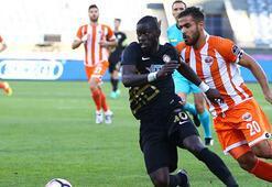Osmanlıspor - Adanaspor: 1-0