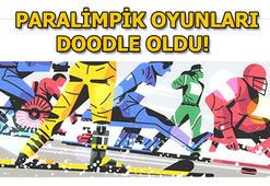 Paralimpik 2018 için sürpriz Doodle Paralimpik Oyunları neden Doodle oldu