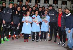 Beşiktaşta 8 Mart Dünya Kadınlar Günü kutlaması