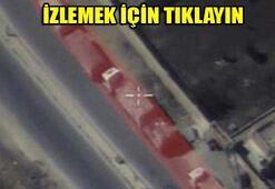 Rusya vurulan yardım konvoyunun görüntülerini yayınladı