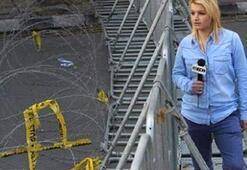 Gazetecinin aracı kundaklandı