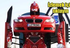 Uzaylılar değil Türk mühendisler yaptı: BMWyi Transformersa çevirdiler