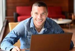 Podolski UEFA için soruları yanıtladı