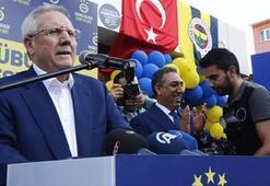 Aziz Yıldırım'dan Taksim çıkarması