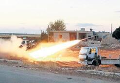 IŞİD'e füze yağmuru