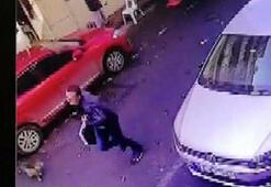 Fatihteki döviz bürosu soyguncusu kamerada