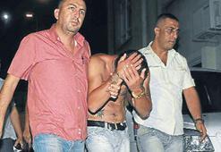 Bıçaklı saldırgan kardeşler, huzur timinden kaçamadı