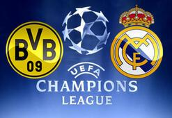 Borussia Dortmund Real Madrid maçı sonucu 2-2 (B.Dortmund R.Madrid maçı özeti)