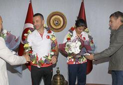 Şampiyon boksörden Trabzonspora ziyaret