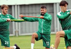 Bursasporda Gaziantepspor maçı hazırlıkları