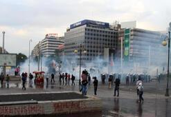 Kızılay Meydanı ve Atatürk Bulvarındaki gruplara müdahale edildi
