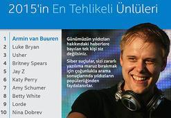 Bu yılın en tehlikeli ünlüsü Armin van Buuren