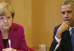 Obama ve Merkelden Esed rejimine kınama