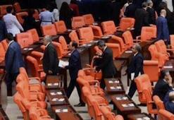 Erdoğan girdi onlar salonu terketti