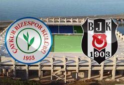 Çaykur Rizespor Beşiktaş maç sonucu: 0-1 (maç özeti)