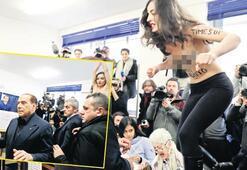Berlusconi'yi şoke eden protesto