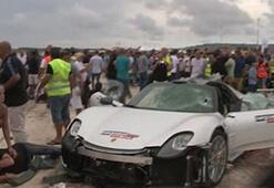 750 bin poundluk Porsche ile 26 kişiyi yaraladı