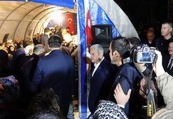 Başbakan Yıldırımdan şehit ailesine taziye ziyareti
