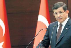 Davutoğlu's first reaction