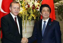Erdoğan ve Abeden ortak basın toplantısı