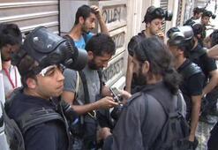 Gazetecilere gözaltı