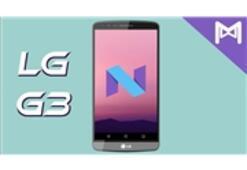 LG G3 Nougat Geliyor Mu